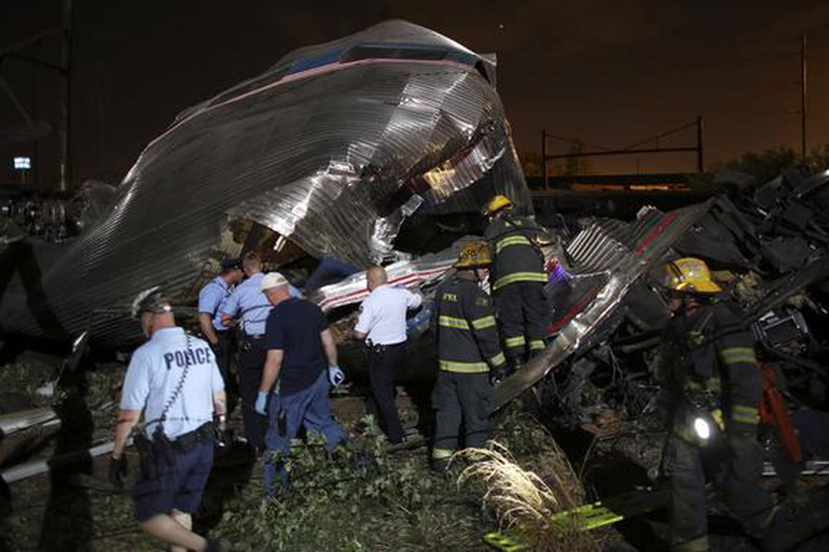 The first photos from the deadly accident surfaced on Twitter Tuesday night.