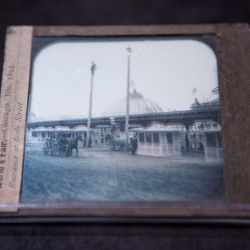 A lantern glass slide of the 1893 Columbian Exposition. | James Foster/For the Sun-Times