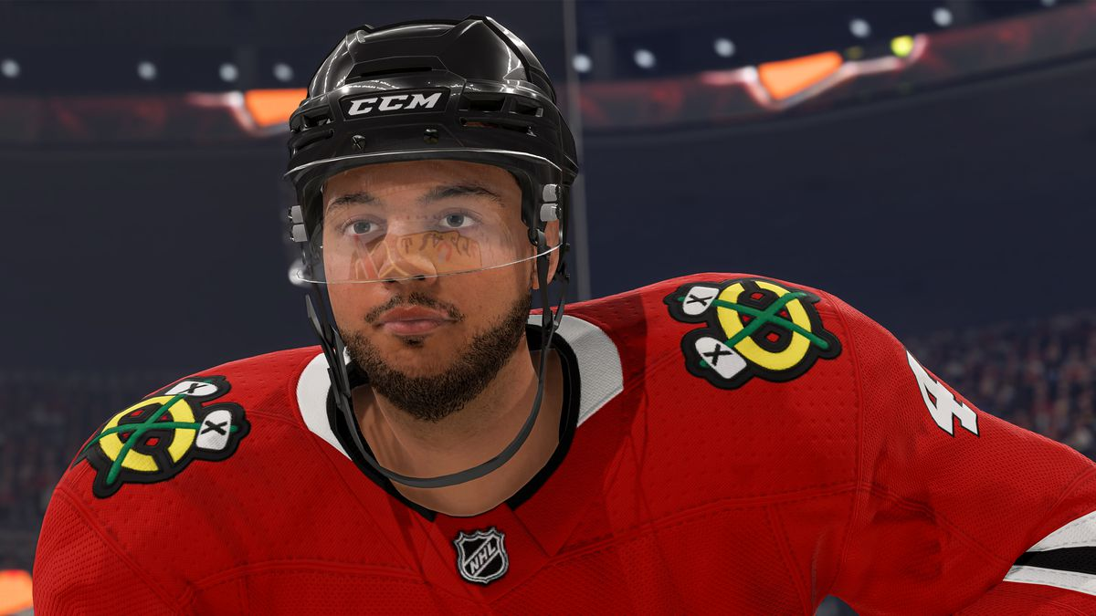 Seth Jones of the Chicago Blackhawks in NHL 22