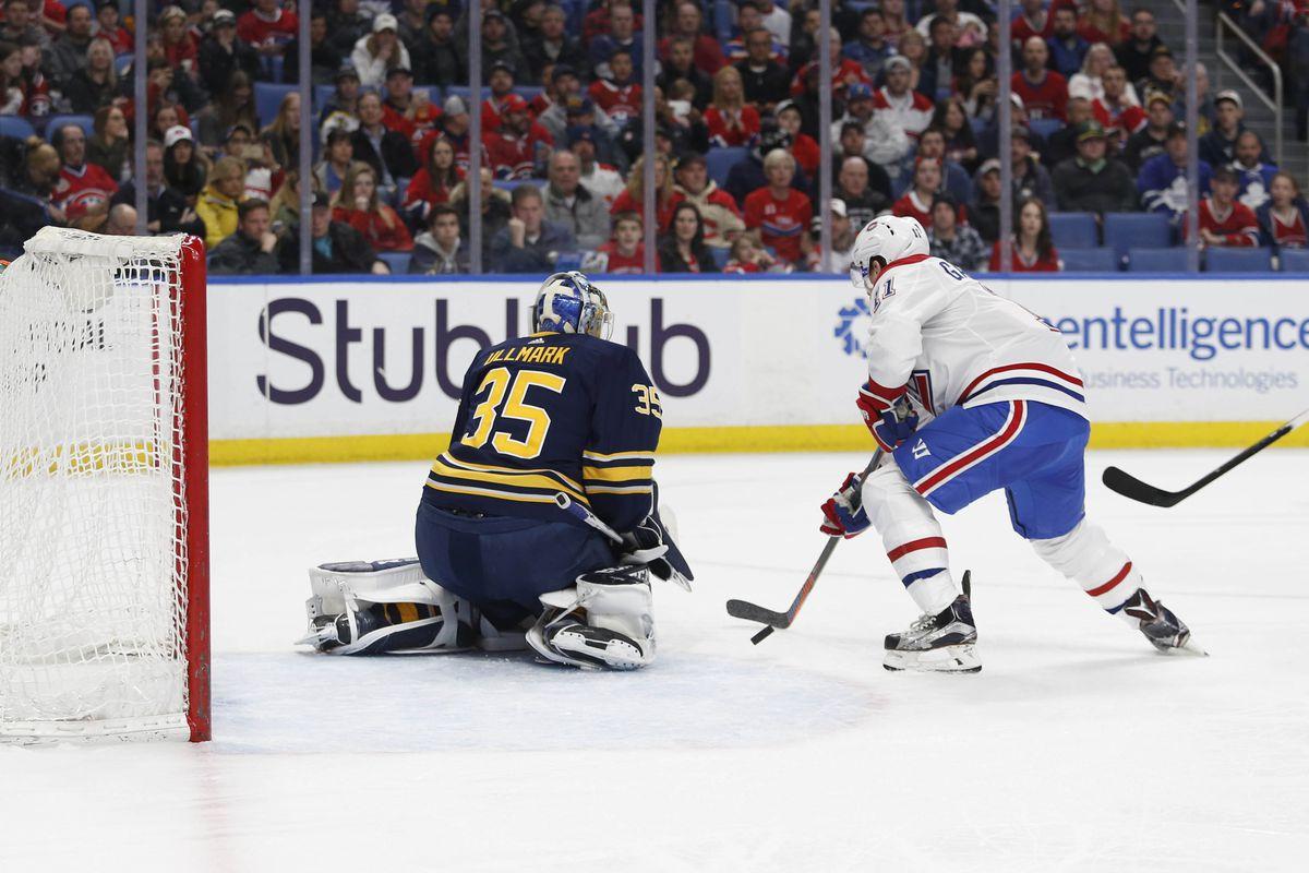 NHL: Montreal Canadiens at Buffalo Sabres