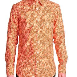 Orange Print Shirt will be $148 (retail $178)