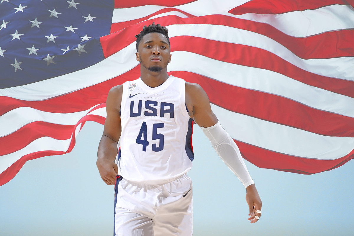 newest collection c59b6 11951 Donovan Mitchell's committed to Team USA, and it's going to ...