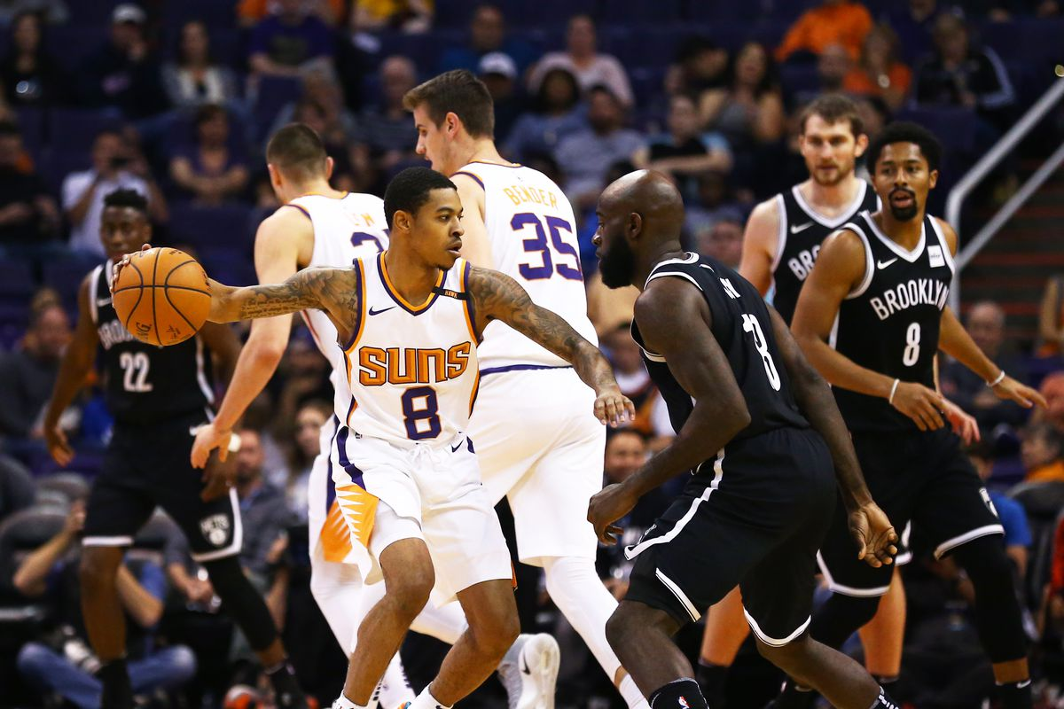 Phoenix Suns 92 - 98 Brooklyn Nets NBA Highlights