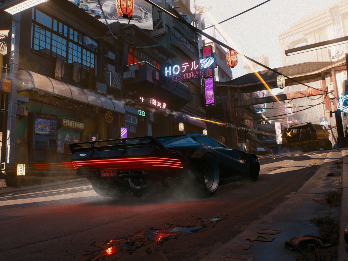 Cyberpunk 2077 S Wanted System Makes Cops Spawn From Thin Air Polygon