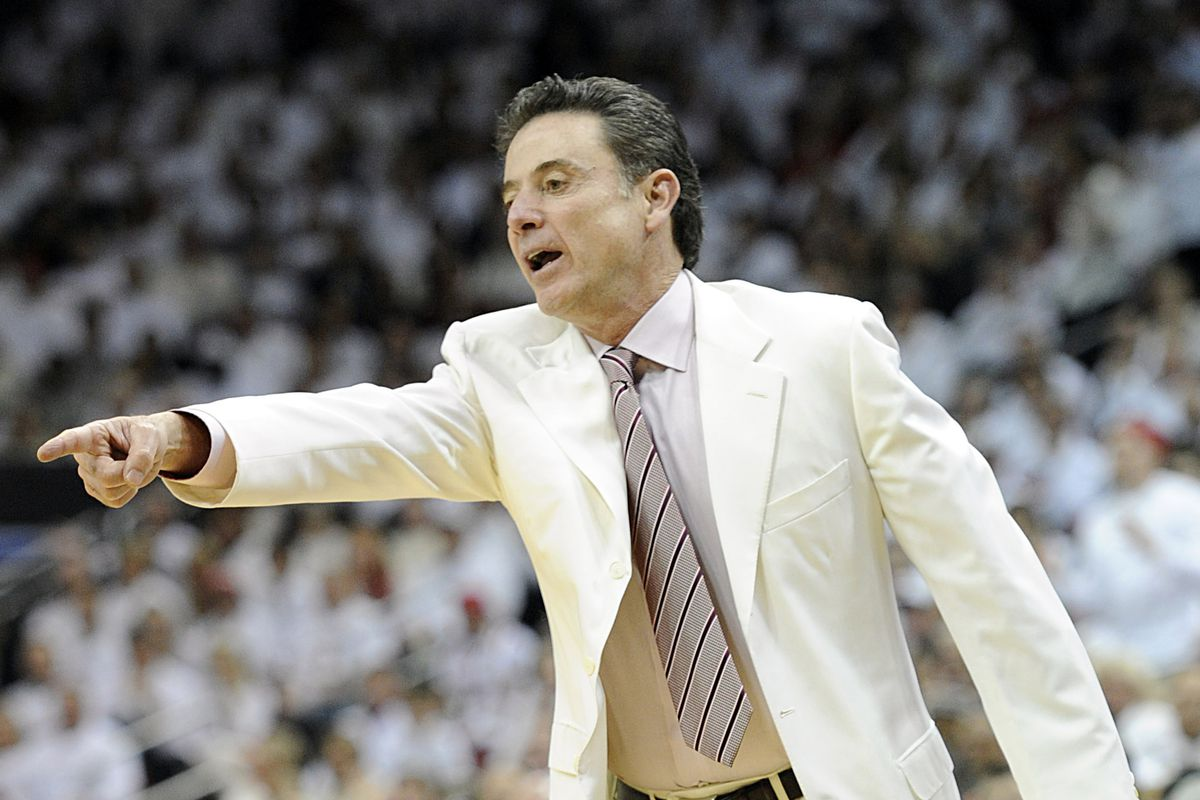 Louisville coach Rick Pitino is 349/1 to win both the 2013 NCAA title and the Kentucky Derby.
