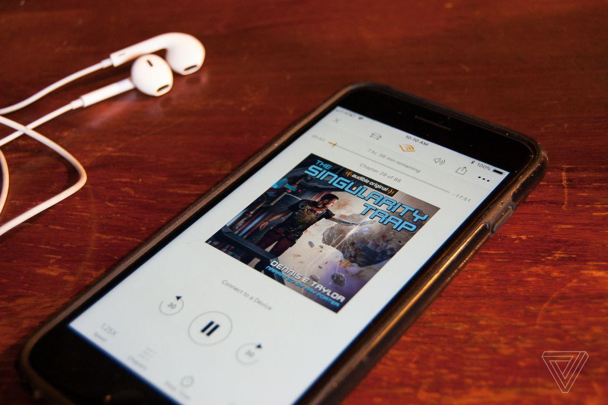 Audible is giving members two free original audiobooks each