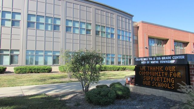 Despite its low passing rate on ISTEP, test scores are on the rise at Wayne Township's Chapel Hill 7th and 8th Grade Center.