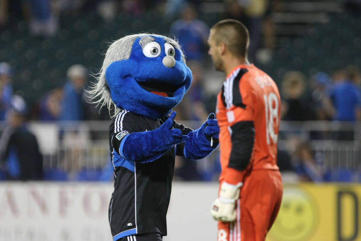 I'm not sure whether to be intrigued or terrified. Also there's the mascot.