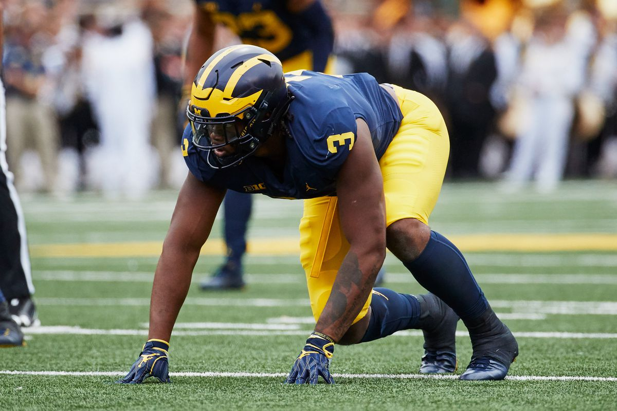 2019 Nfl Draft Film Room Scouting Report On Michigan Dt