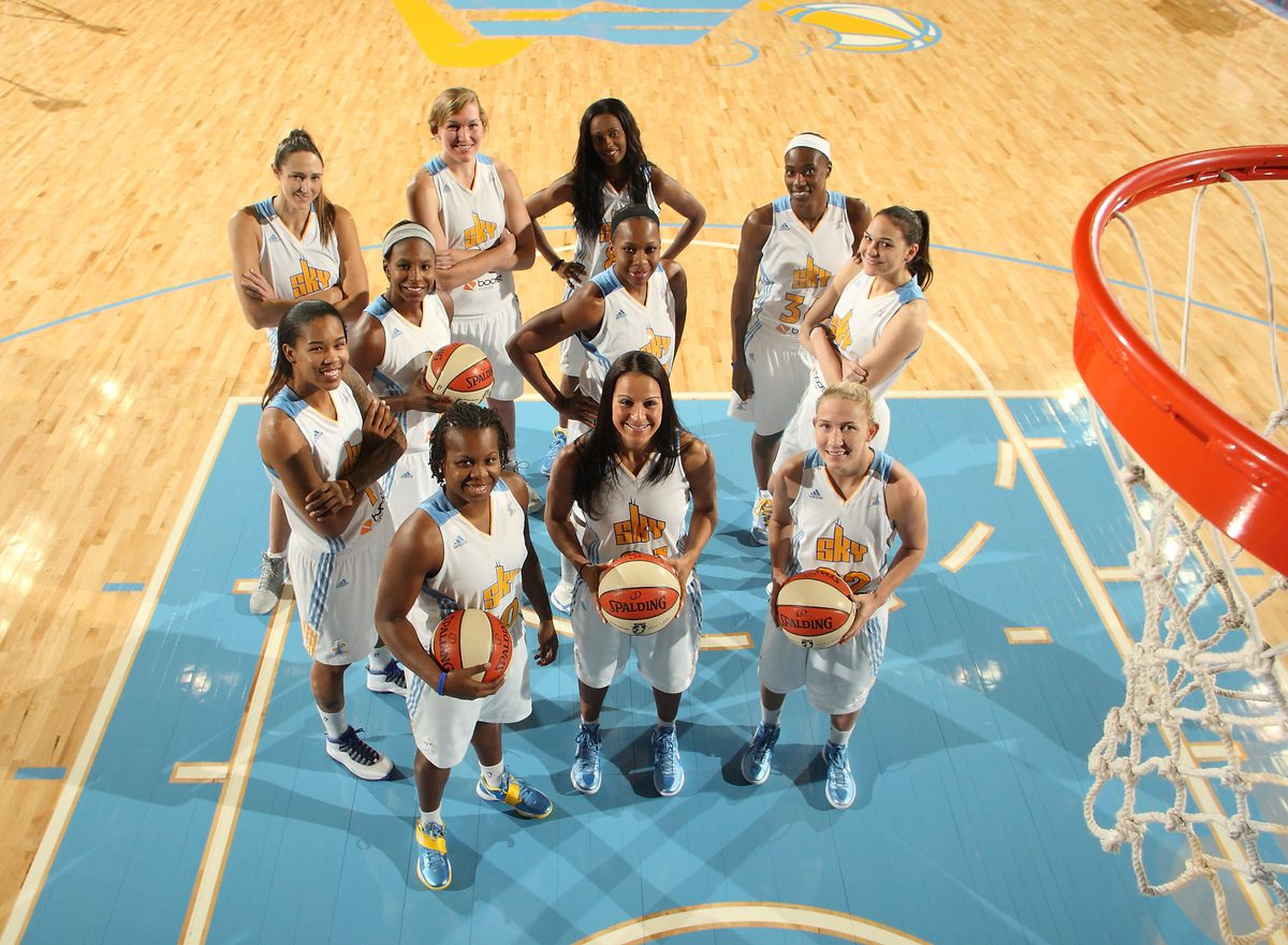 Chicago Sky Team Photo