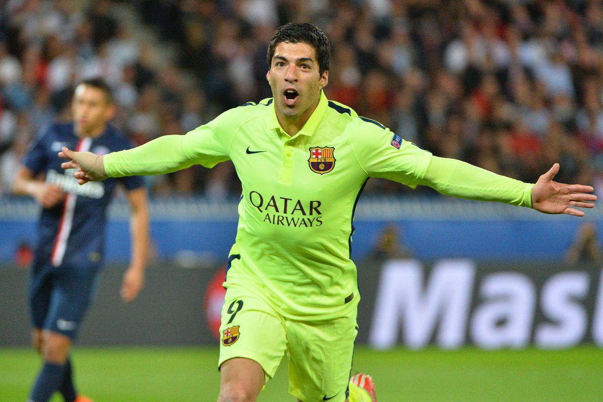Soccer - Paris St. Germain PSG vs. Barcelona - UEFA Champions League Quarterfinals