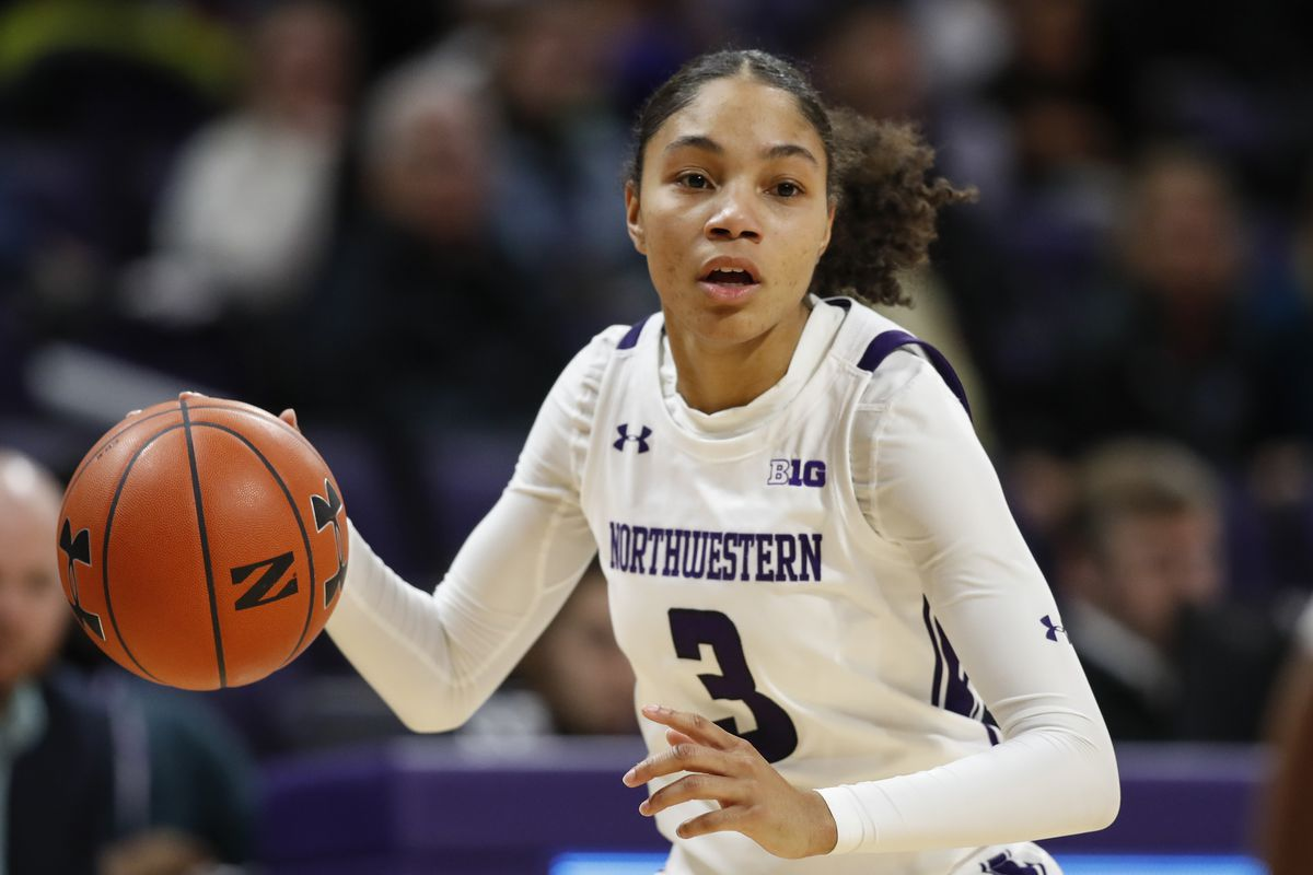 Sydney Wood scored 12 points in Northwestern's loss to Rutgers on Thursday.