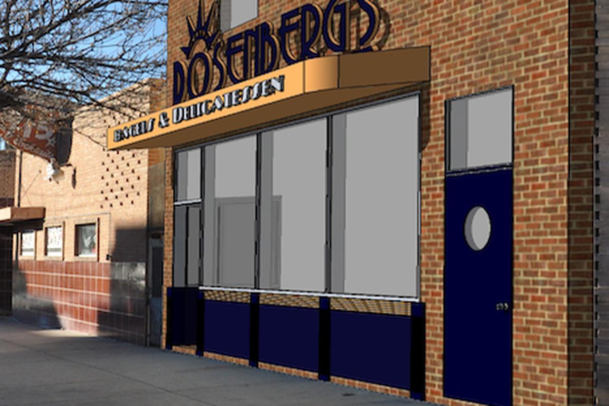Rosenberg's Bagels and Delicatessen 26th Avenue Rendering