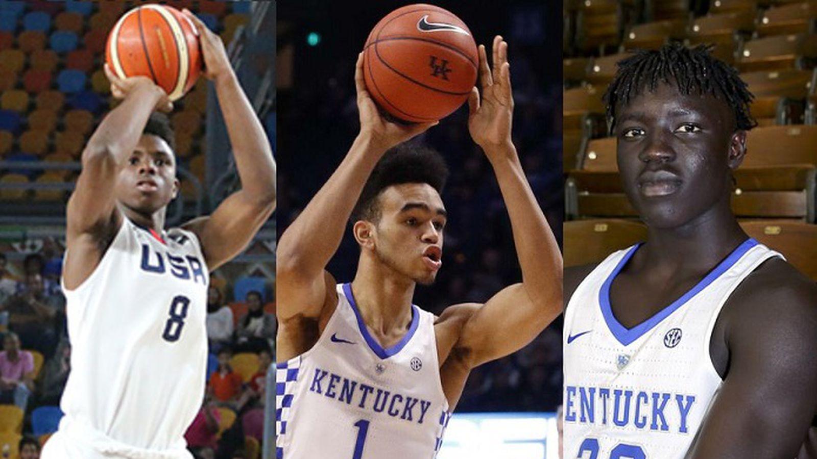Kentucky Wildcats Basketball 2017 18 Team Photo: Kentucky Wildcats Basketball Roster Review Series