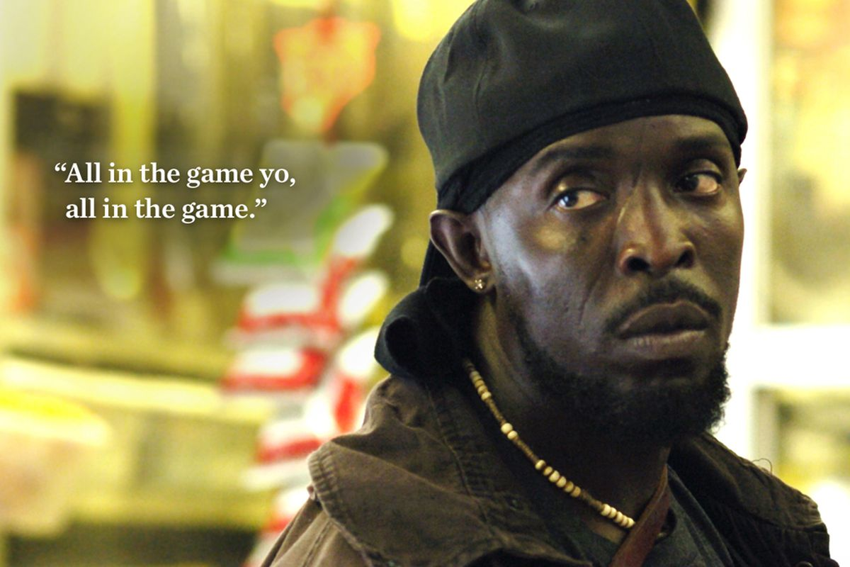"""The Wire Omar """"All in the game, yo"""""""