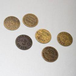 """Catbird """"Brothel Coins"""" ($3.50 each)."""