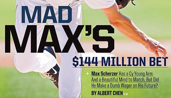 Max Scherzer cover