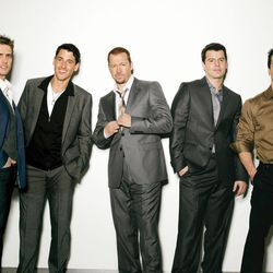 Joey McIntyre, Jonathan Knight, Donnie Wahlberg, Jordan Knight and Danny Wood of New Kids on the Block will perform at the Maverik Center on June 9.