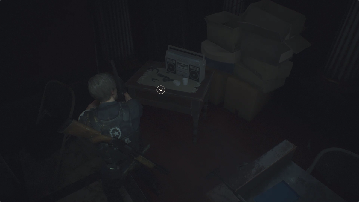 Press Room Hiding Places item location Resident Evil 2