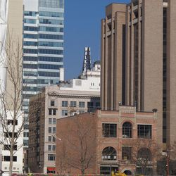 A century later, the Walker Center still competes successfully for sky space in downtown Salt Lake City.