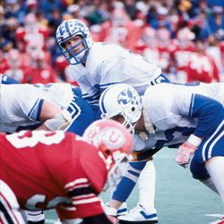 Jim McMahon was one of the top quarterbacks in BYU's history.