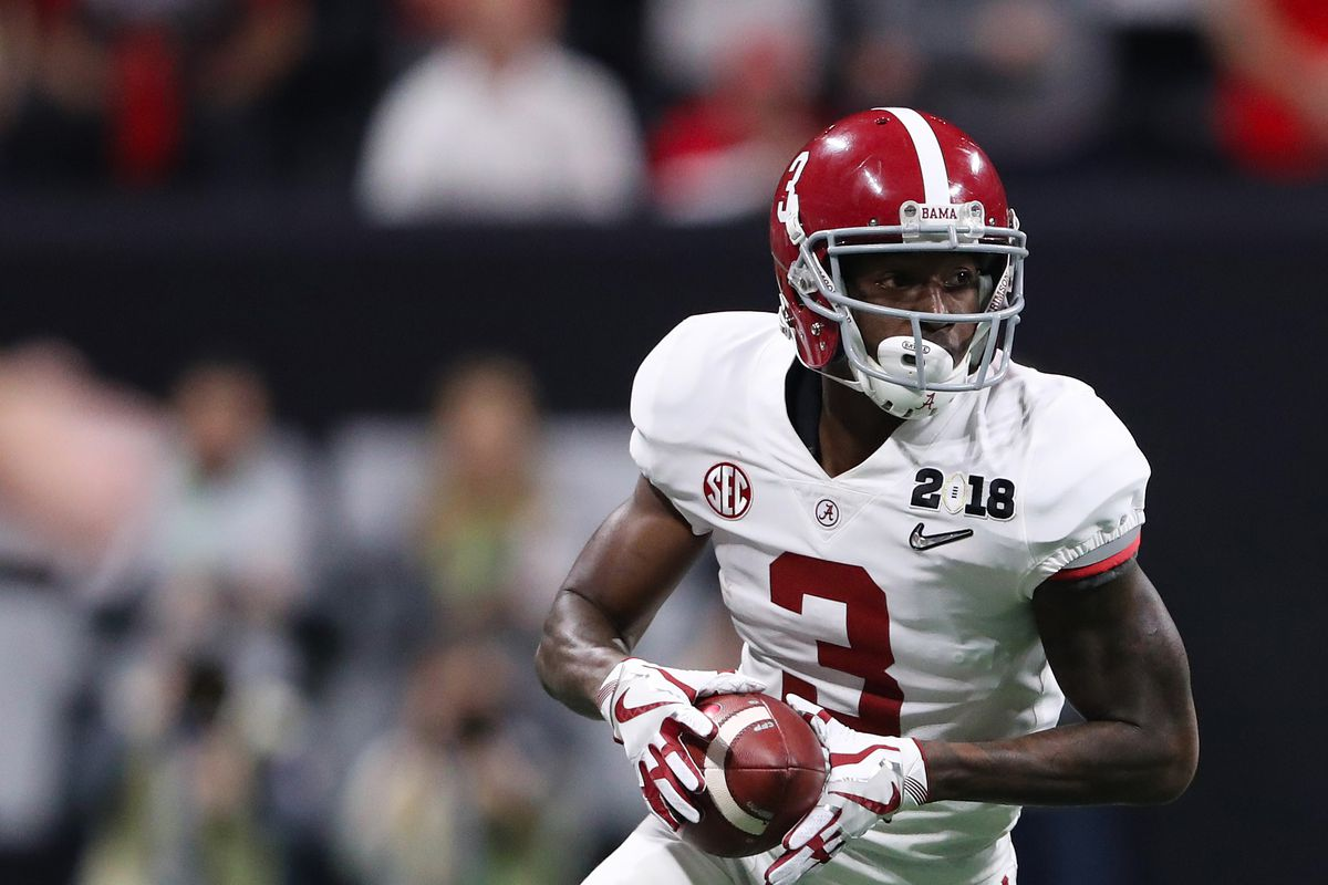 2018 Nfl Mock Draft Is Calvin Ridley Is The Wr The Ravens Need Sbnation Com