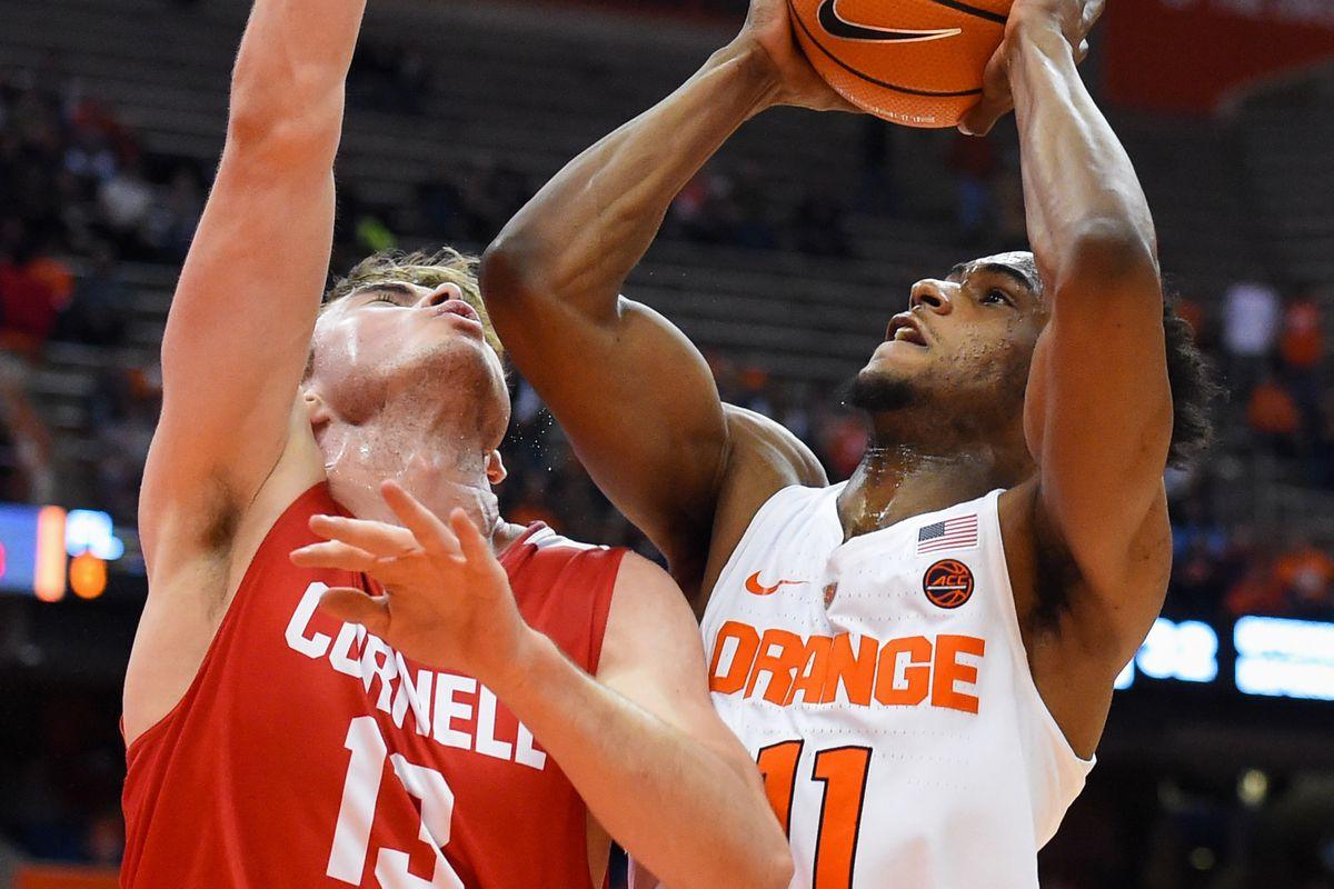 NCAA Basketball: Cornell at Syracuse
