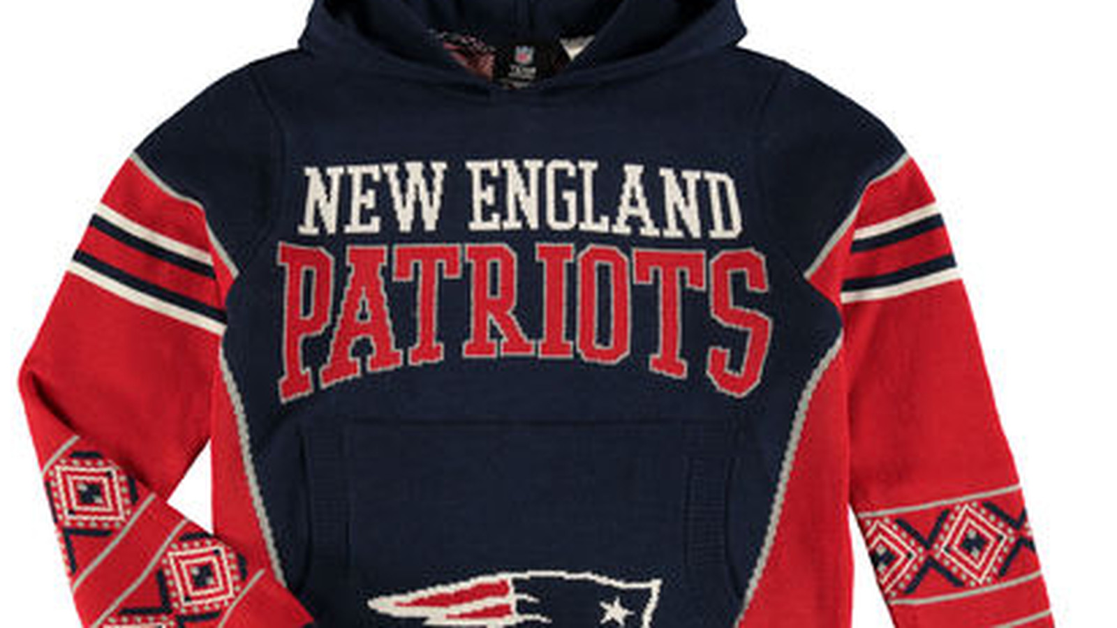 the best attitude c5cb1 d8497 Friday is Ugly Sweater Day and I Need These Patriots ...