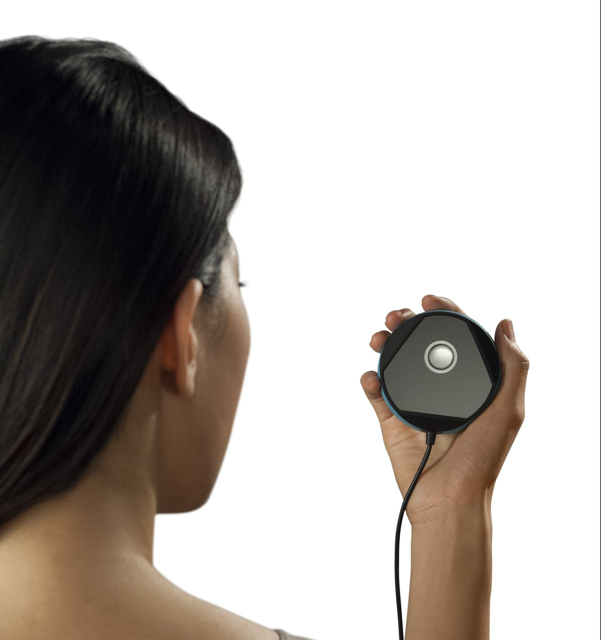 You look into the Myris so it can authenticate you based on your irises.
