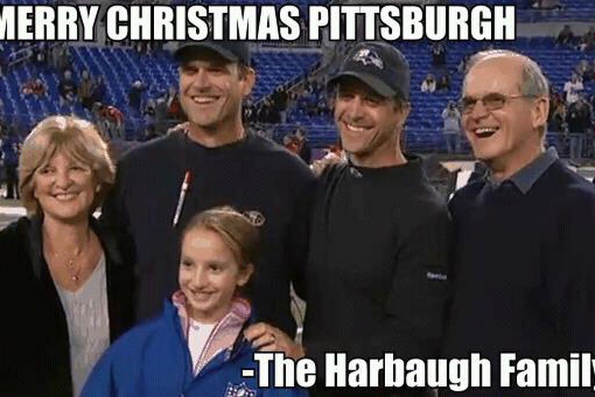 Harbaugh Family Steelers