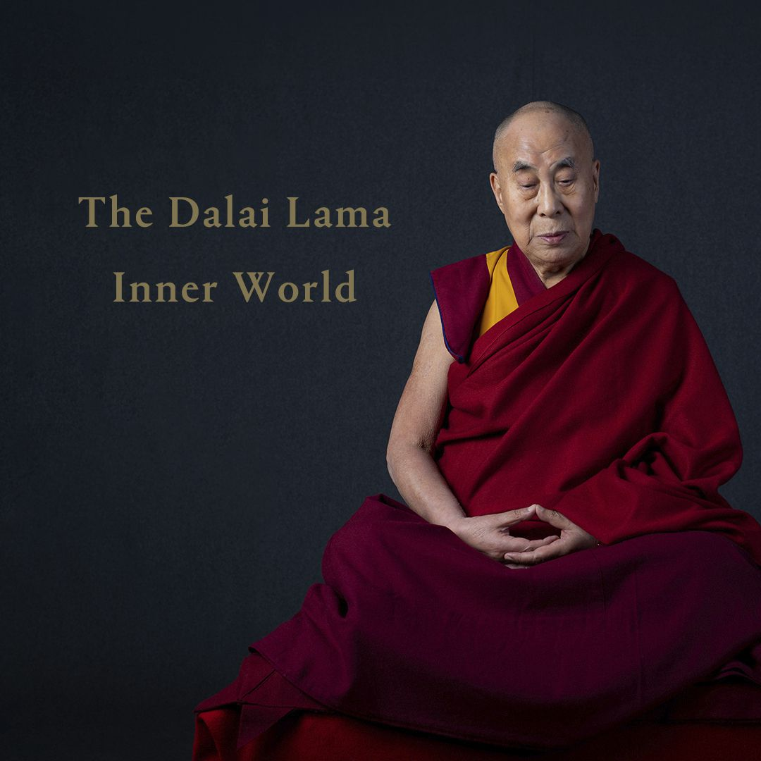 """This cover image released by Hitco Entertainment and Khandro Music shows """"Inner World,"""" the first album by The Dalai Lama."""
