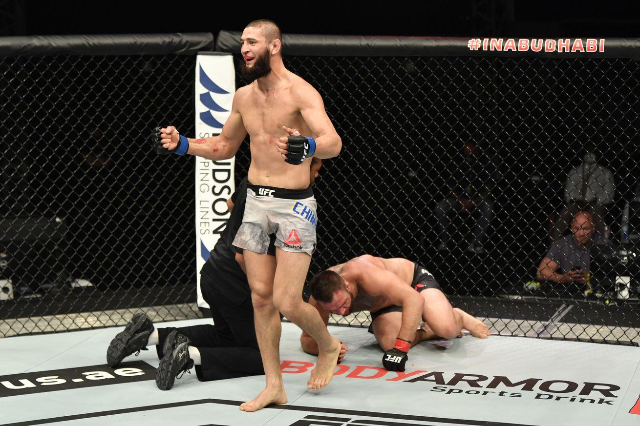 UFC Fight Night: Phillips v Chimaev