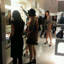 Shopping at Alexander McQueen