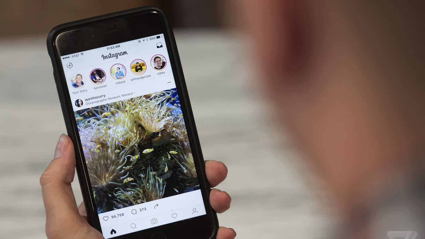 Instagram's new stories are a near-perfect copy of Snapchat