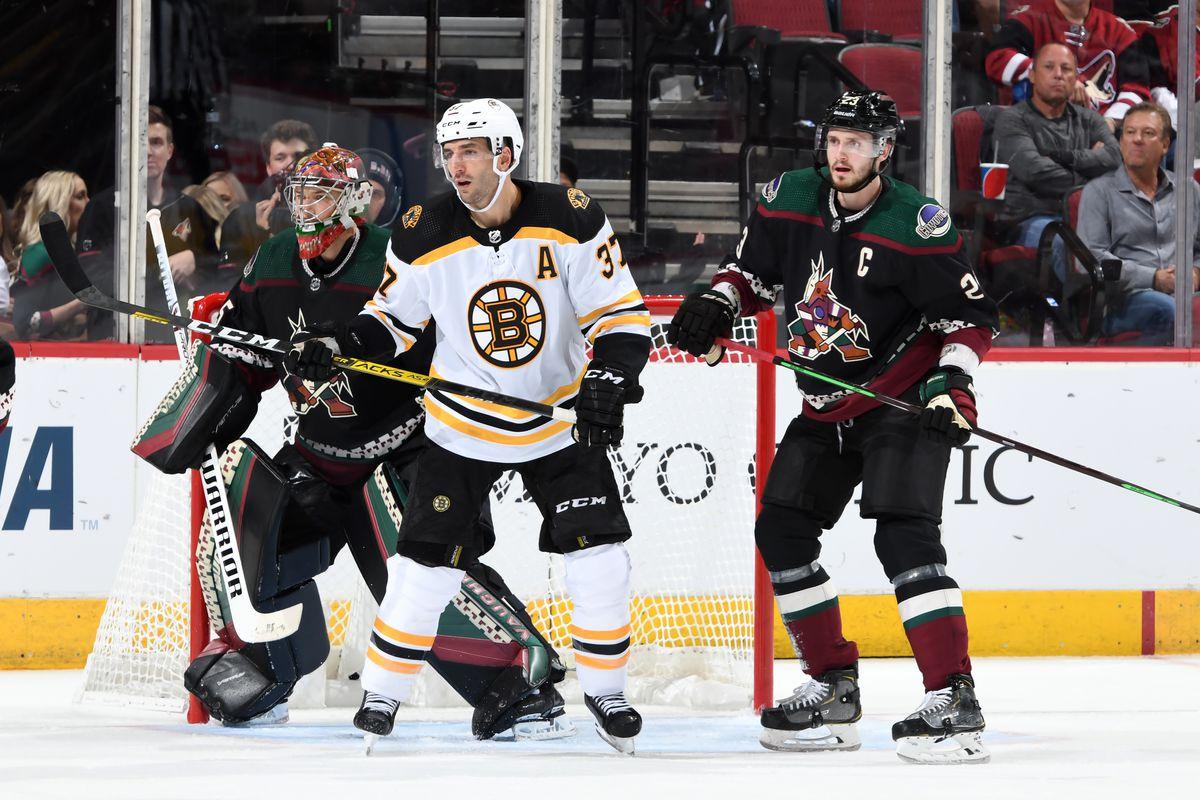 Boston Bruins v Arizona Coyotes