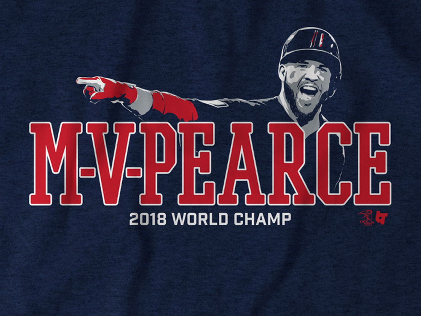 new concept bbca3 b5746 Red Sox World Series Shirt: Steve Pearce is the MVP - Over ...