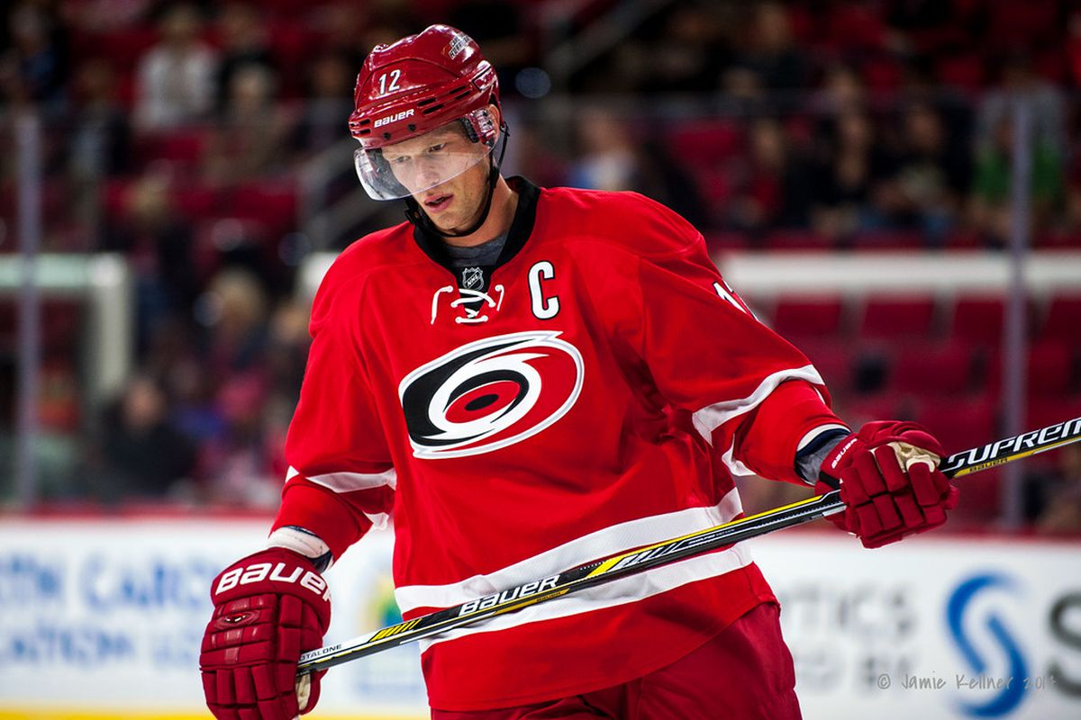 Eric Staal has been a clutch playoff performer during his career, but he's only reached the postseason twice in his nine NHL seasons.