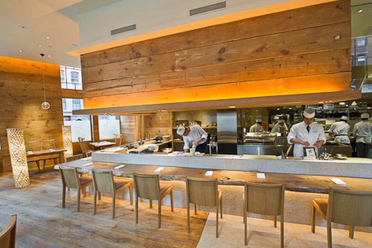 Bouley Adds Eight Seat Sushi Counter To Brushstroke Eater Ny