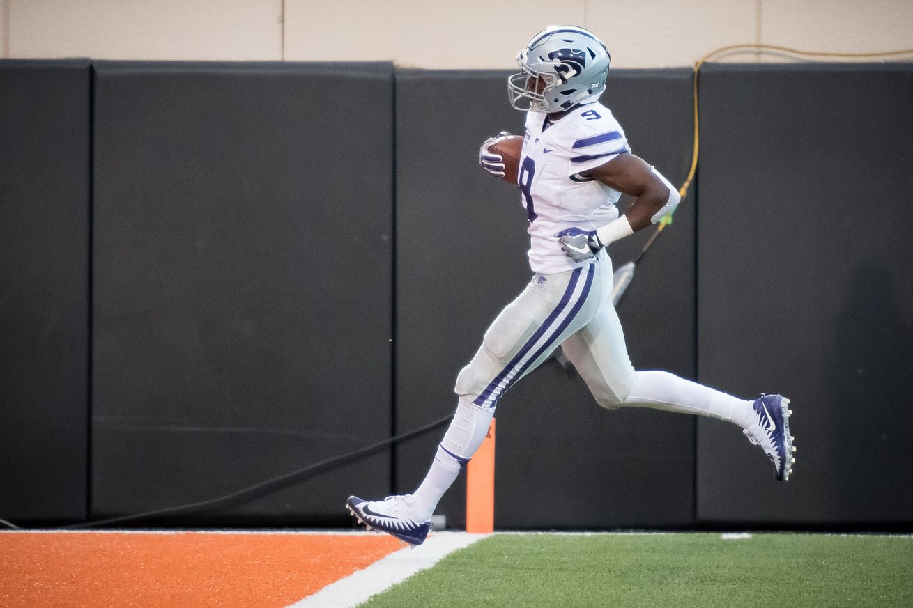 Byron Pringle, destroyer of Cowboys, has moved on to the NFL as a free agent. EJ Turner will inherit his scholarship, if not his No. 9 jersey. If Turner can be half as good as Pringle was at OSU, but consistently perform at that level, he might have a better career.