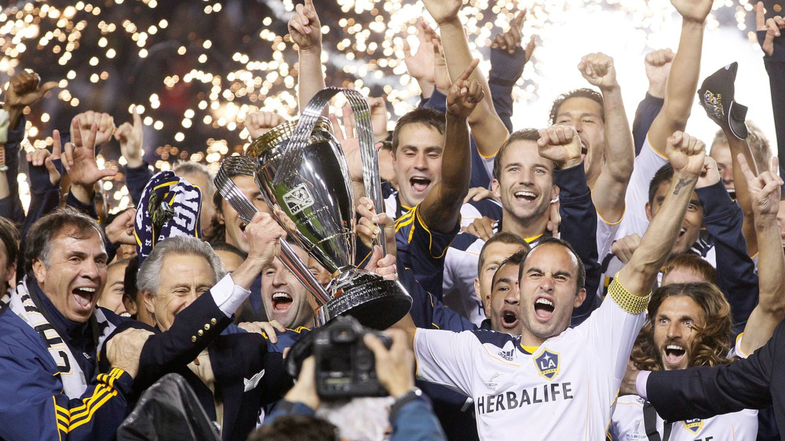 Los Angeles Galaxy Vs Houston Dynamo Mls Cup Final 2011