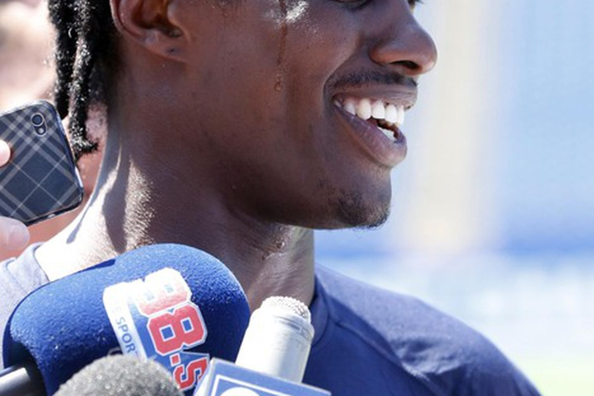 <em>Brandon Lloyd is seen as a positive pick-up for the Patriots, in one opposing scout's opinion</em>.