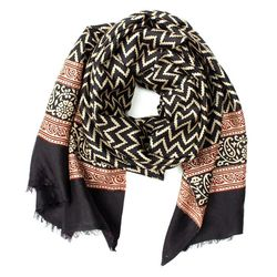 "<span class=""credit""><b>Patch NYC</b> Block Print Silk Scarf, <a href=""http://www.patchnyc.com/products/block-print-silk-scarf-ed10053"">$98</a></span><p>"