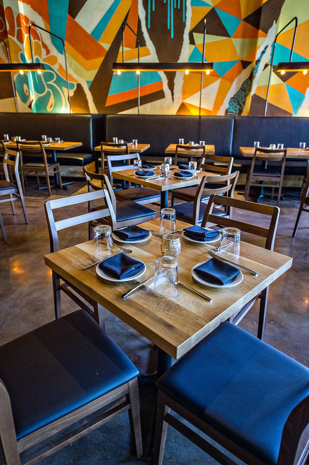Double Zero's new location comes with a brighter, modern atmosphere.