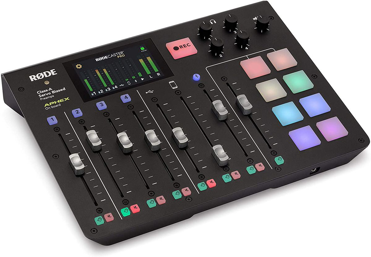 Rode RodeCaster Pro podcast production