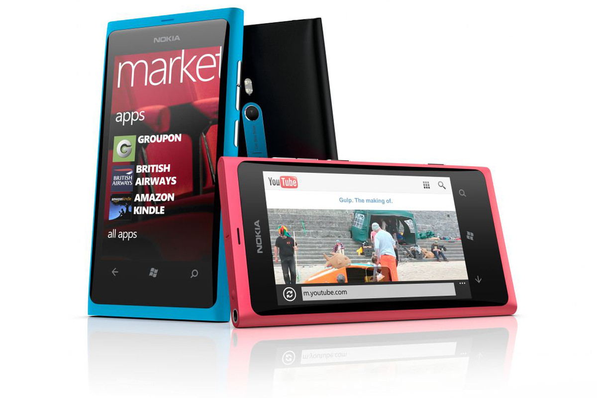Nokia Lumia 800 group