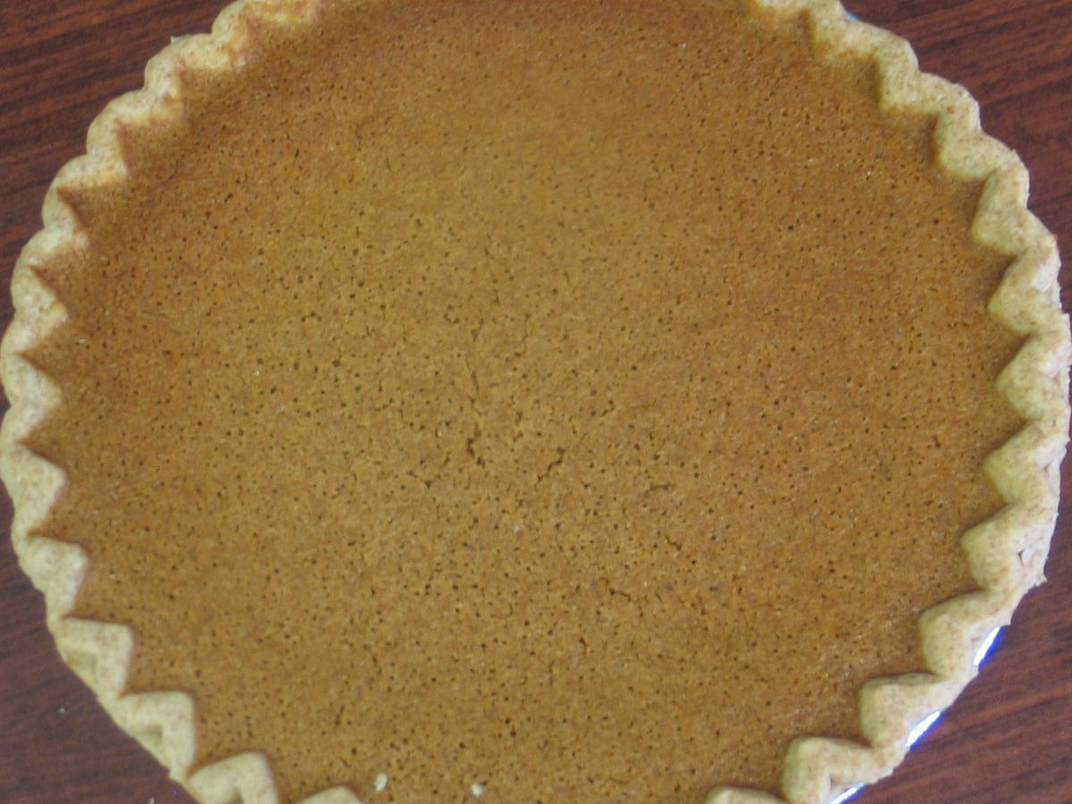 A bean pie from Shabazz Bakery.