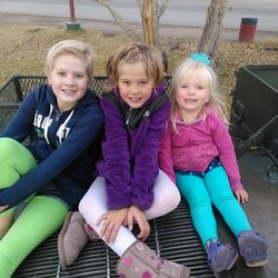 Sarah, Heather and Pyper Magera. When one child is sick, the other children are impacted, too. Sara has AML leukemia and she and her mom are often 400 miles away from home while she gets treatment.