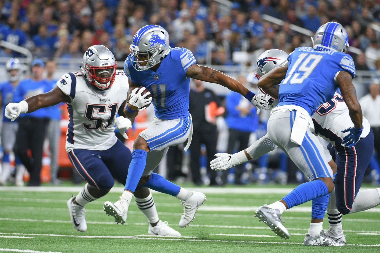 How the Lions beat the Patriots to cap off a weird-ass NFL Sunday
