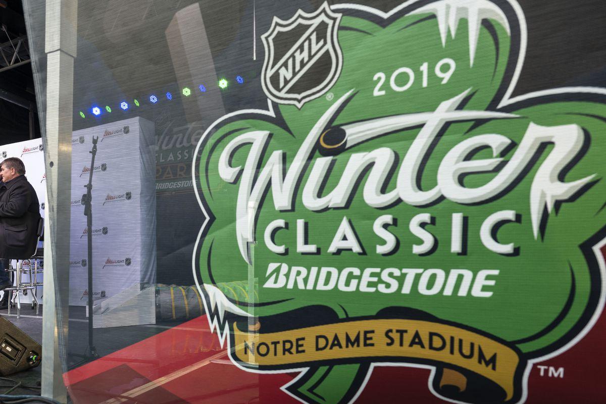 Winter Classic 2019  Blackhawks vs. Bruins at Notre Dame Stadium ... cf4da2a13