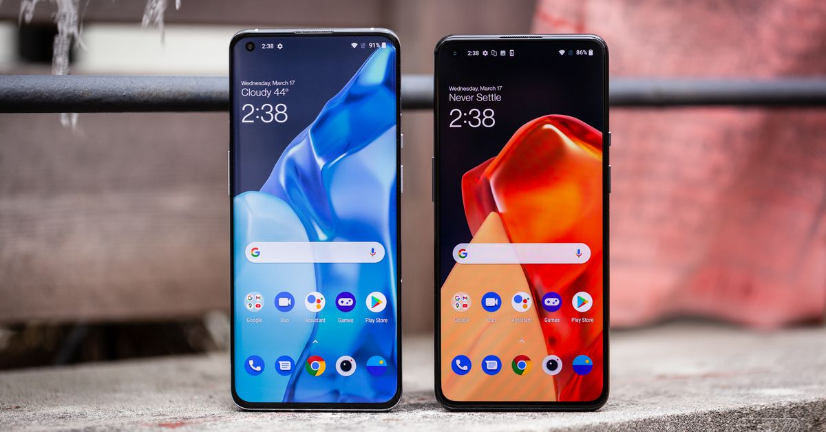 The OnePlus 9 and 9 Pro vs. Samsung Galaxy S21 and iPhone 12 - The Verge